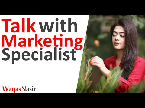 Talk With Marketing Specialist (Sarah Zubair)   FM 98.6 By Qasim Ali Shah