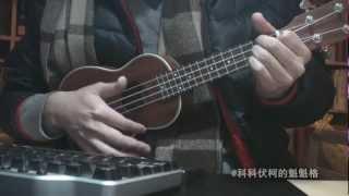 我们都在等待-安心亚-ukulele