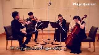 Frederick Delius - String Quartet【Complete】(ディーリアス 弦楽四重奏曲 全楽章);Plage Quartet(プラージュカルテット)