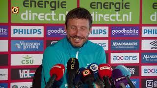 Terugkijken: de persconferentie van Mark van Bommel in aanloop naar Ajax-thuis