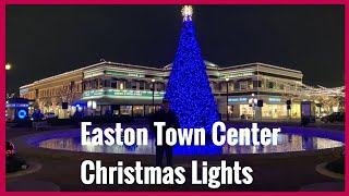 Easton Town Center Christmas Lights(part 1)| Filipina Life in US