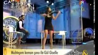 Giselle Tavilson Electric Violin Show | Star Tv, Alişan Ile Sevcan Programı