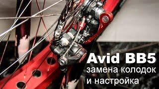 Дискові механічні гальма Avid BB5 - заміна колодок та налаштування