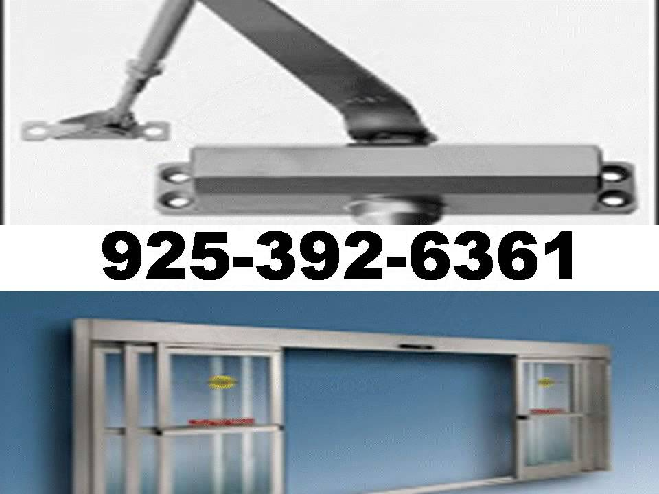 commercial automatic door closer opener repair install