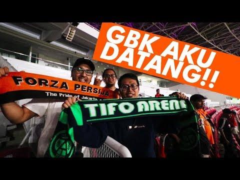 GBK Aku Datang! | Persija Jakarta vs JDT | Piala AFC 2018 | #AkuTurunStadium