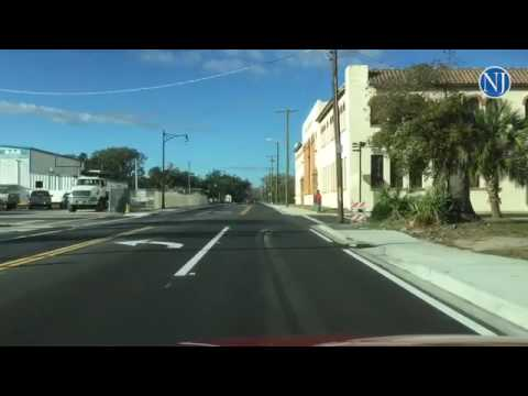 Ridng from Beach Street to Nova Road in Daytona Beach on the newly reopened Orange Ave