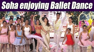 Soha Ali Khan enjoying Ballet Dance performance at Christmas event; Watch Video | Boldsky