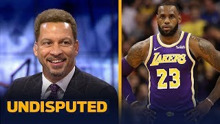 Chris Broussard reacts to LeBron and the Lakers