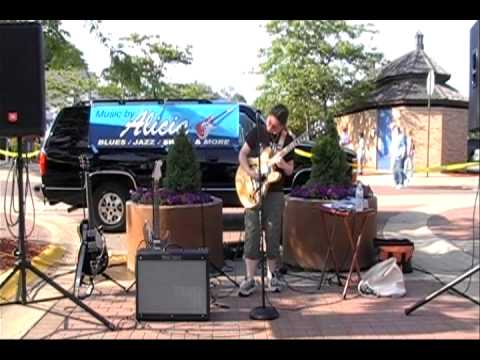 First Time I Met the Blues by 14 year old Alicia Marie on Guitar/Vocals