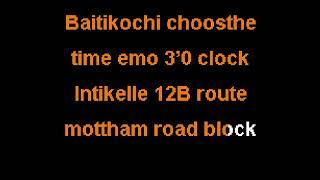 Baitikochi Chusthe Time Emo ~ Agnyaathavaasi (Karaoke Version)~Sing Sing India