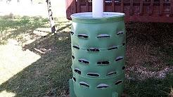 Around the Home: #2 Making a Garden Barrel