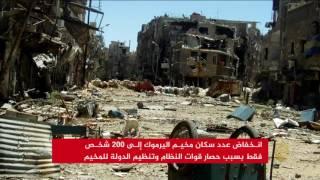 مخيم اليرموك يعاني من حصار مزودج