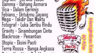 Lagu Slow Rock Malaysia 80-90an | Lagu Slow Rock Popular