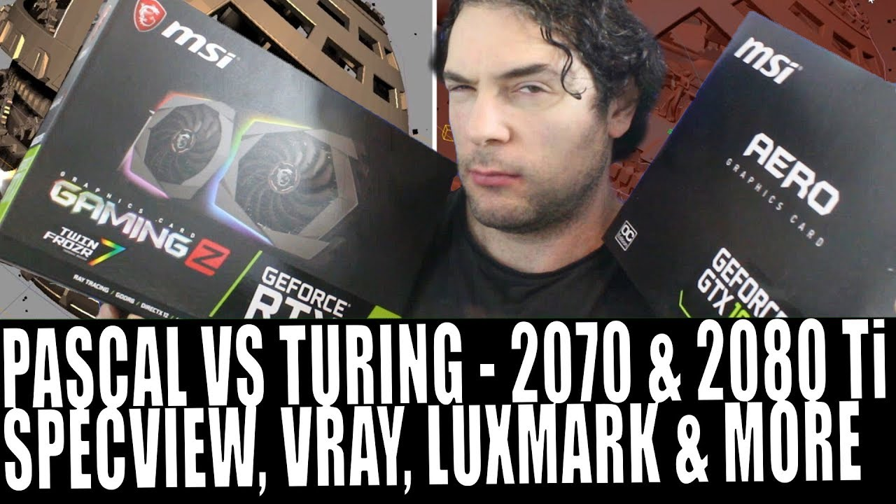 Why Turing Is Great For Professionals | RTX 2070 & RTX 2080 Ti 3d &  Scientific Computing Benchmarks