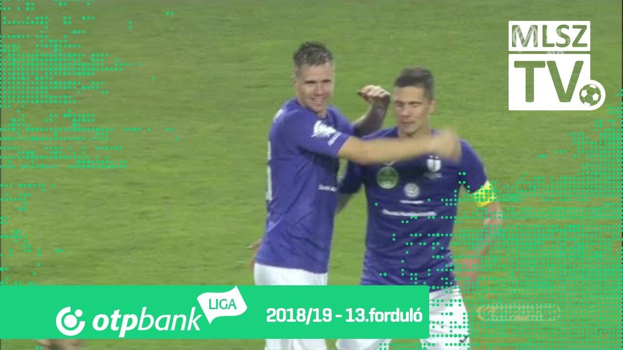 Balázs Benjámin gólja az Újpest FC - Szombathelyi Haladás mérkőzésen
