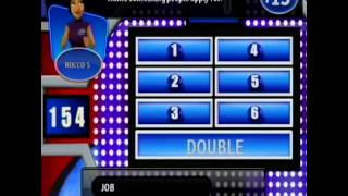 Wii Family Feud 2010 edition ep2 Thibodeau vs. Cooper