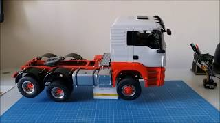 Download Video TÜRKÇE MAN TGS 26.500 RC ESS ONE SOUND uzaktan kumandalı model oyuncak kamyon tır bruder MP3 3GP MP4