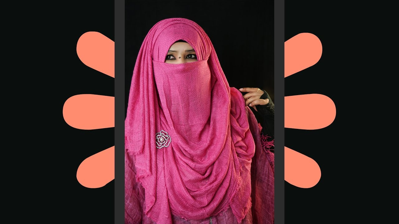 [VIDEO] - My Favourite New Niqab Hijab Style Tutorial 2019 | Easy and Full Coverage Niqab Style | NiqaBee 1