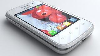 3D Model LG Optimus L1 II Tri E475 at 3DExport.com
