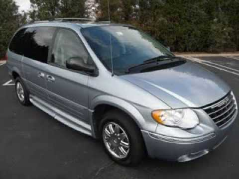 Wheelchair Van For 2005 Chrysler Town Country Handiced With Only 73k