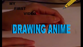 I drawing a hot anime guy. (Fast tutorial)