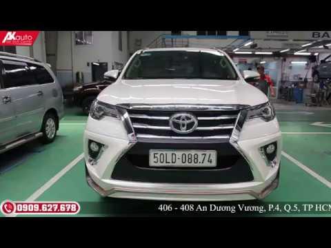 Body Kit Xe Toyota Fortuner 2017 – Mẫu Độ Lexus từ Hãng Ativus Thái Lan   AKauto
