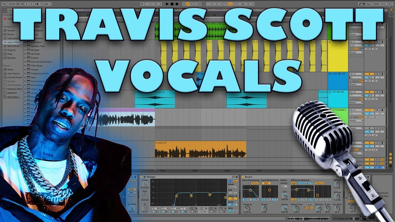 How To Sound Like Travis Scott (Ableton Live 10)