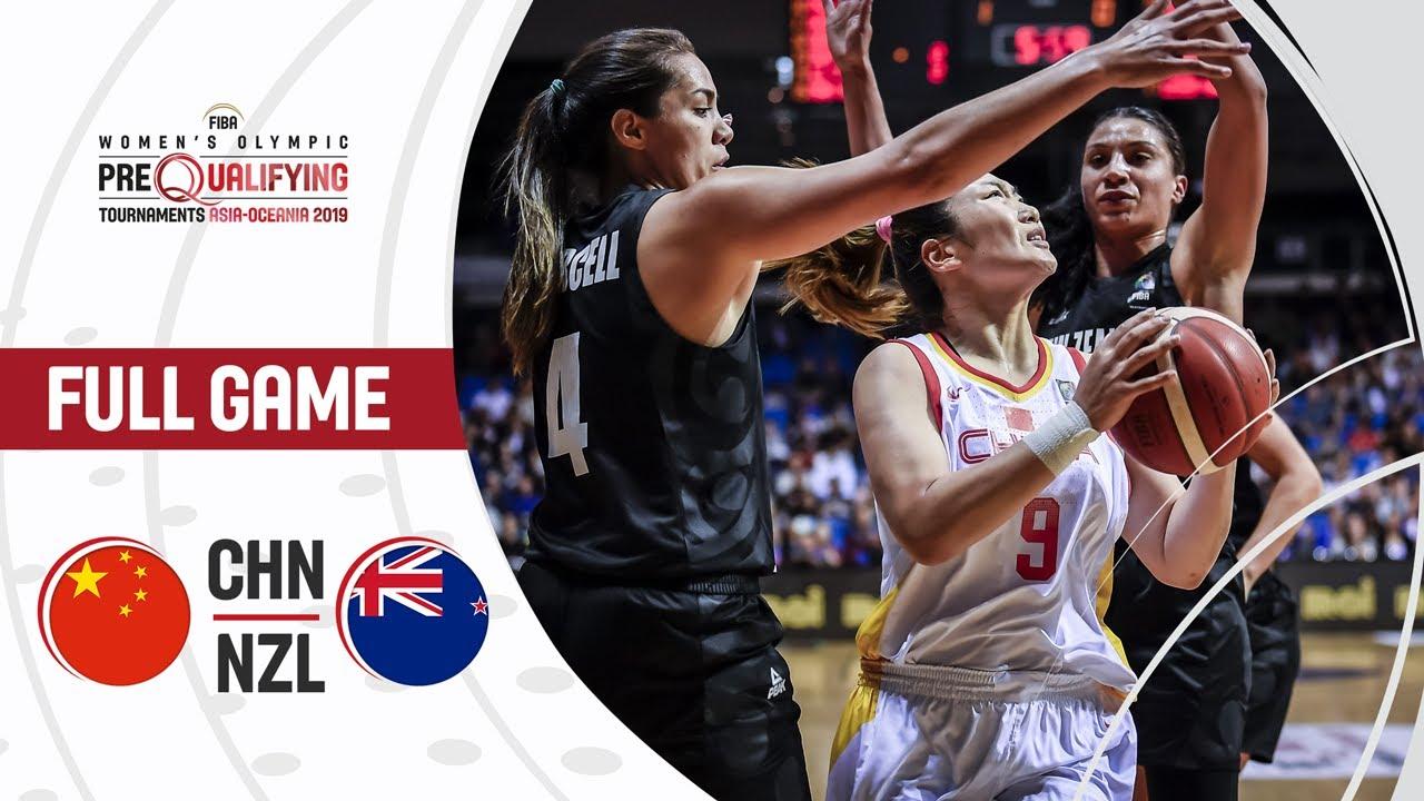 China v New Zealand - Full Game - FIBA Women's Olympic Pre