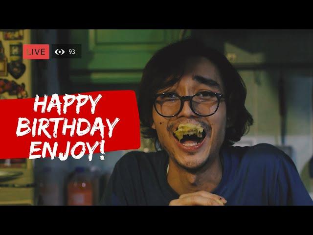 happy birthday enjoy | filem pendek seram