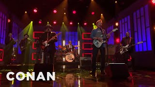 "Conan O'Brien & The Basic Cable Band Perform ""40 Days""  - CONAN on TBS"