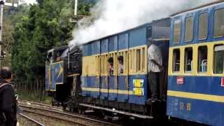 "Nilgiri Mountain Railway: ""Nilgiri Queen"" #37398 departs Coonoor"
