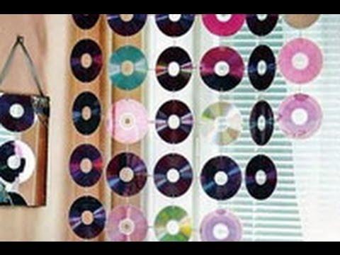 Tenda fai da te con vecchi cd youtube - Tenda doccia fai da te ...