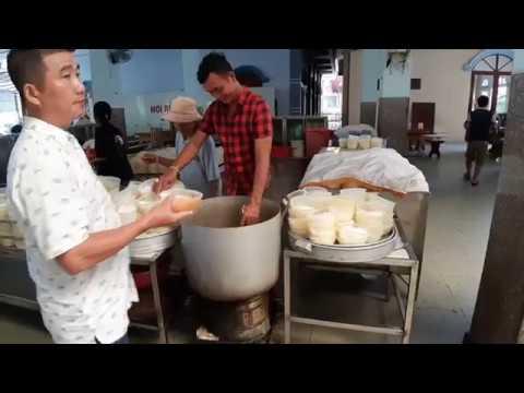 Bún riêu chay Chùa bún riêu Vũng Tàu ngày Nấu 70 nồi bự chảng dịp lễ Vu Lan 2019