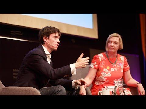 Rory Stewart speaks with Charlotte Higgins at the Edinburgh International Book Festival