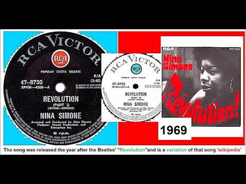 Nina Simone - Revolution (Pts.1 and 2) 'Vinyl'