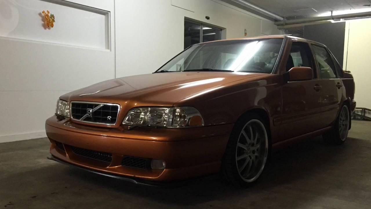 Volvo s70R saffron - YouTube