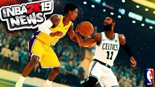 REACTION To NBA 2K19 FIRST Gameplay Trailer - Take The Crown