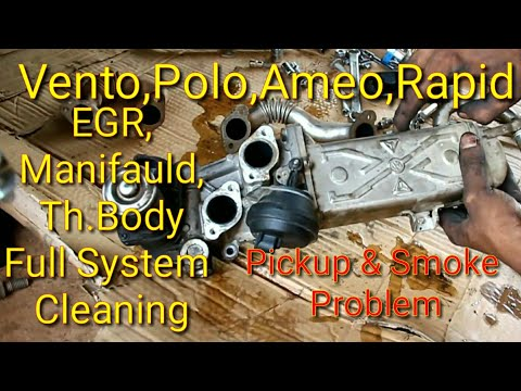 VW Vento EGR, Throttle body , Intake & Turbo cleaning