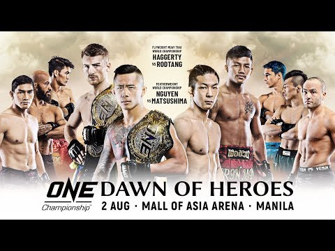 🔴 [Live in HD] ONE Championship: DAWN OF HEROES