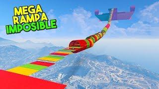 MEGA RAMPA IMPOSIBLE! SUPER GIGANTE! - GTA V ONLINE