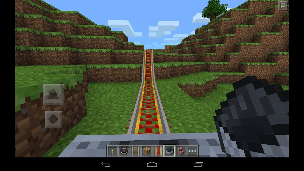 minecraft pocket edition demo crafting