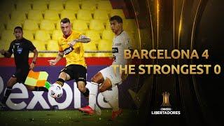 Barcelona vs. The Strongest [4-0]   RESUMEN   Fecha 2   CONMEBOL Libertadores 2021
