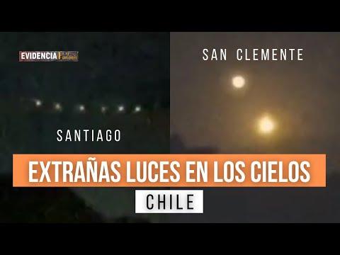 OVNIS EN SANTIAGO Y SAN CLEMENTE , CHILE (Noviembre de 2020)