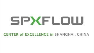 SPX FLOW Center of Excellence in Shanghai China