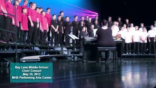2012 Spring Bay Lane Choir Concert - Man or Muppet