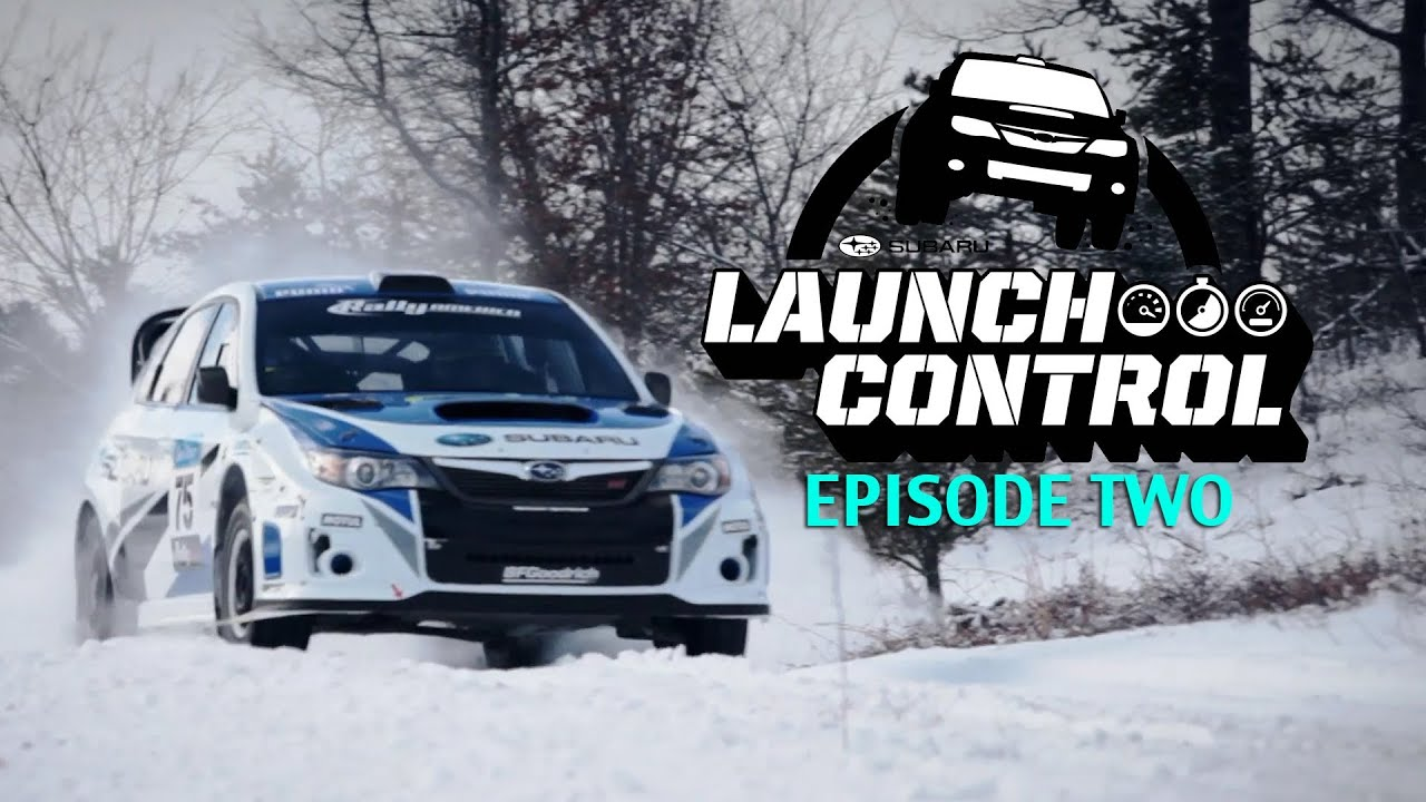 subaru rally team usa sno drift rally 1 2 launch control episode 2 youtube youtube