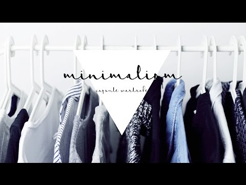 was ist eine capsule wardrobe minimalismus youtube. Black Bedroom Furniture Sets. Home Design Ideas