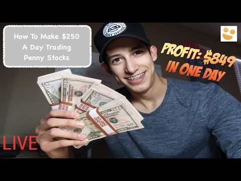 Live Trading: $849 Profit In 1 DAY: How To Trade: $NUGT, $JNUG, and $PIP | Episode 50
