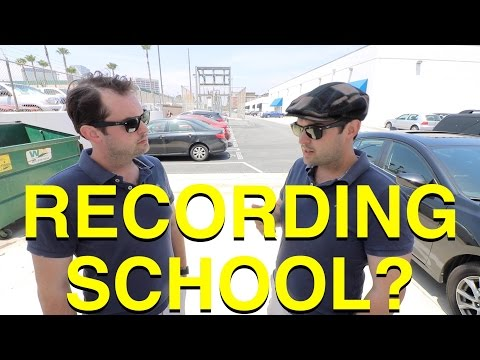AUDIO RECORDING SCHOOL: Should You Go? Is It Worth It?