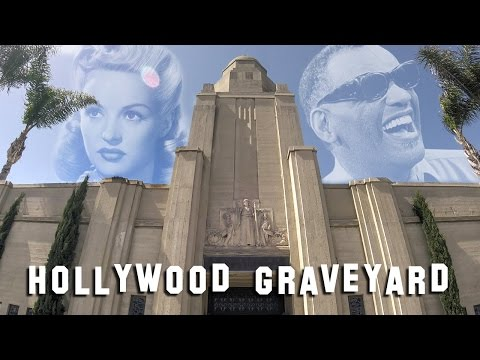 FAMOUS GRAVE TOUR  Inglewood Cemetery Ray Charles, Betty Grable, etc.